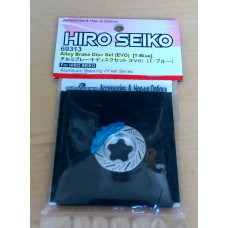Hiro Seiko Alloy Brake Disc Set (EVO) (T-Blue)