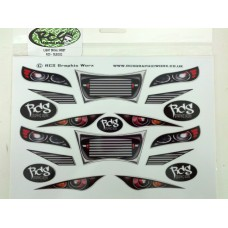 RCS Lights & Grilles decal Set
