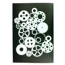 RCS Paint Stencil - Cognized Ver 2 large - laser cut mylar reuseable flexible stencil
