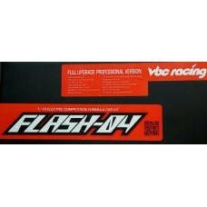 VBC Flash-04 1/10 Electric Competition Formula Car Kit